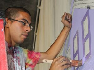 Artist Antonio Ramos; Image courtesy of a fundraising site, YouCaring.com, raising monies for his family.