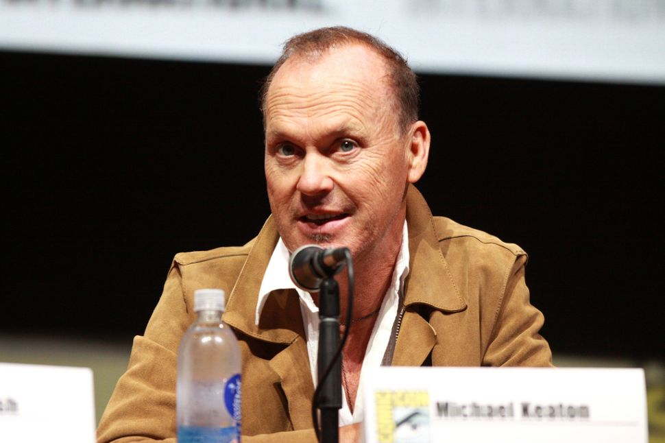Michael Keaton Thinks the New York Times Could Fold in Three Months
