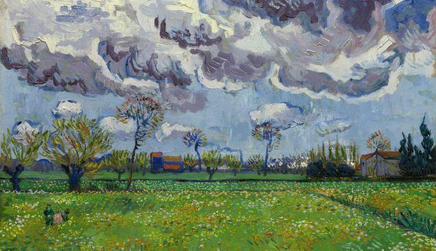 Van Gogh's Paysage du ciel