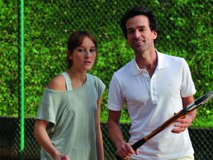 Anaïs Demoustier and Romain Duris in The New Girlfriend.