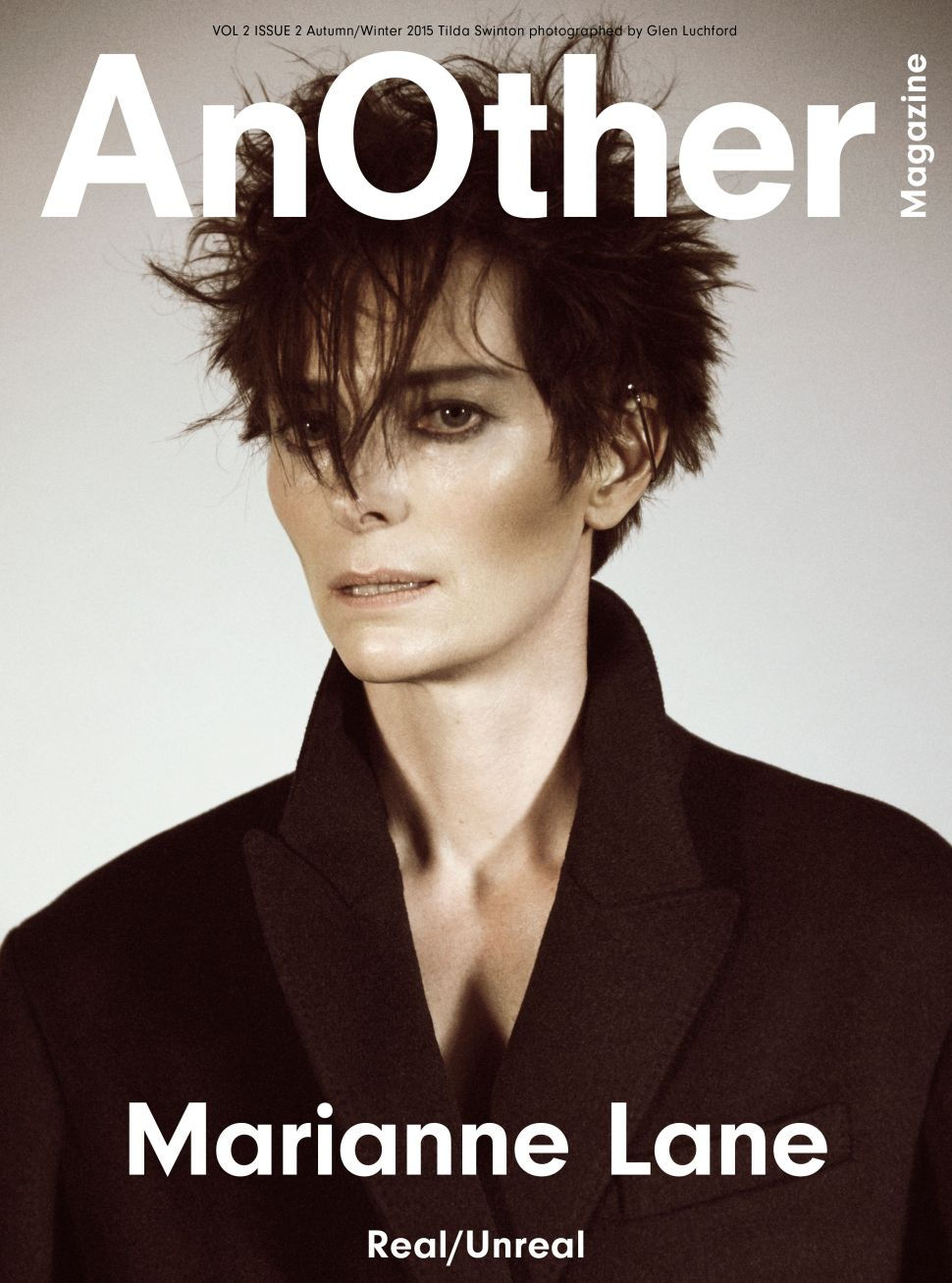 Exclusive: Tilda Swinton Covers AnOther Magazine, But Not as Herself