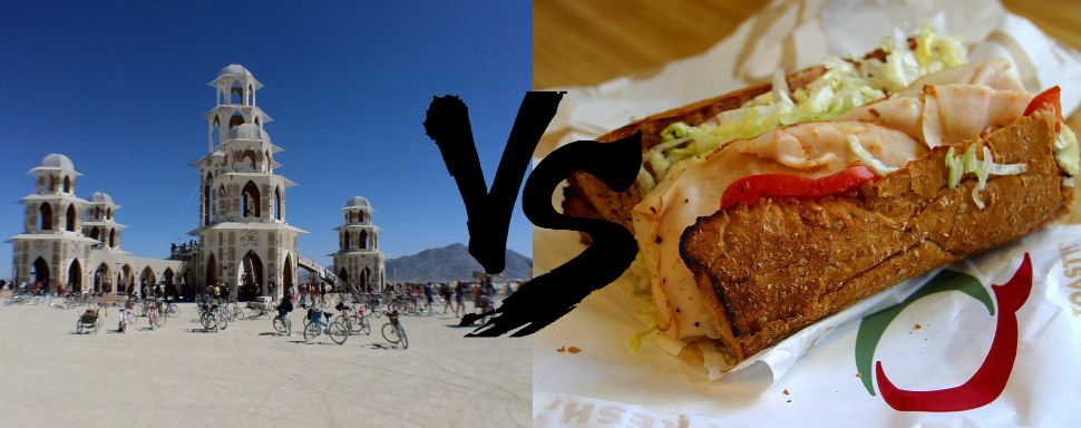 Burning Man Sues Quiznos, Maya Angelou's Collection Hits the Auction Block, and More