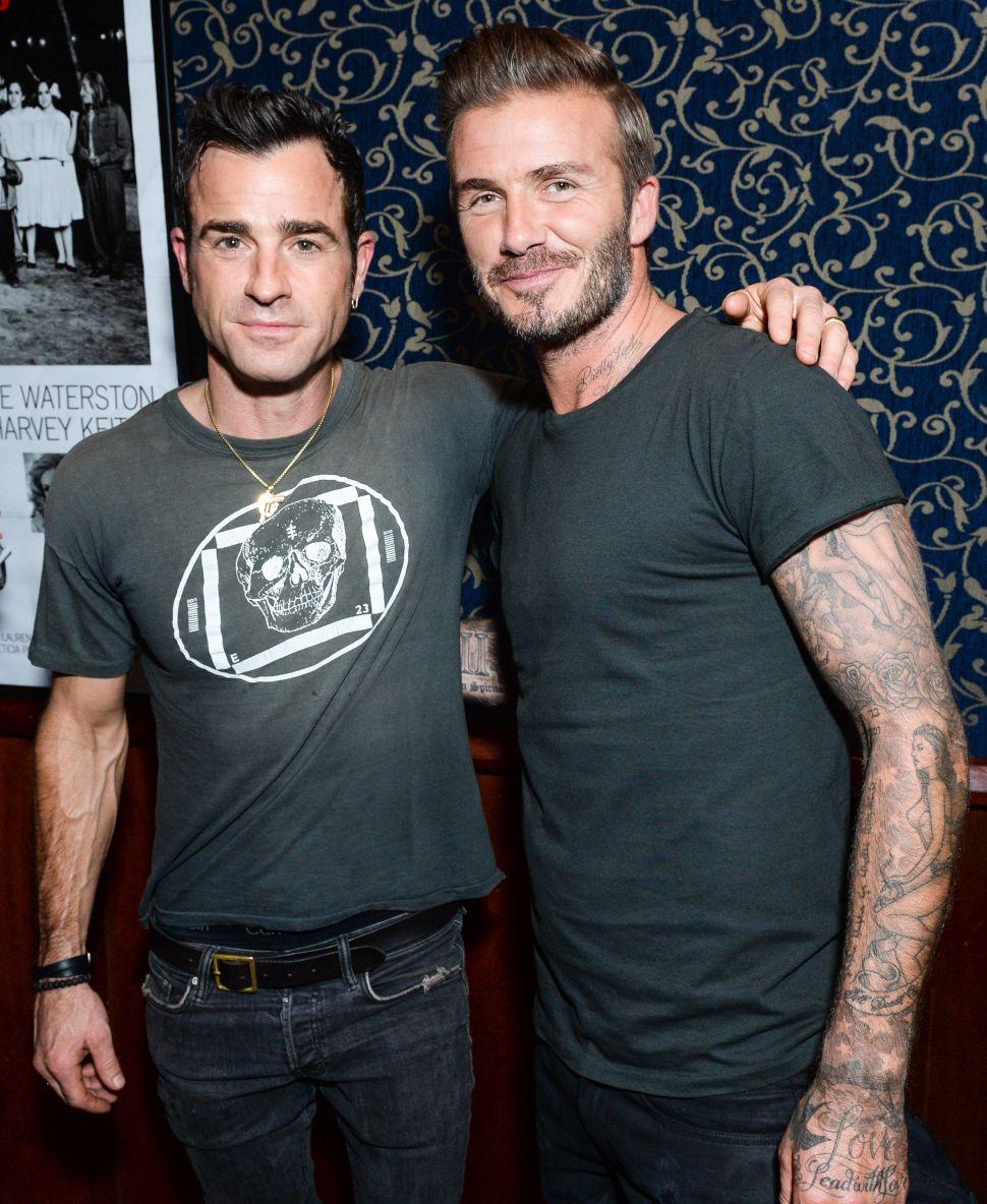 David Beckham's Belstaff Film Debut in a Back Alley Speakeasy