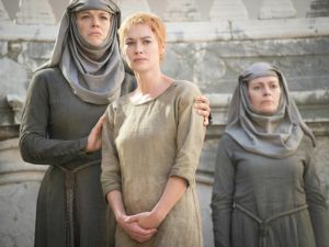 Pictured: Lena Headey arriving to the Emmys. (Macall B. Polay, Courtesy of HBO)