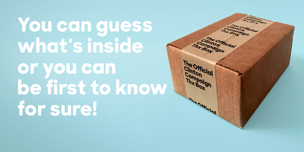 What's Inside Hillary Clinton's Mystery Box?