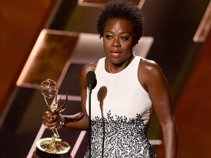 Viola Davis' emotional acceptance speech was one of the most talked about moments on Twitter during last night's Emmys. (Photo: Twitter)