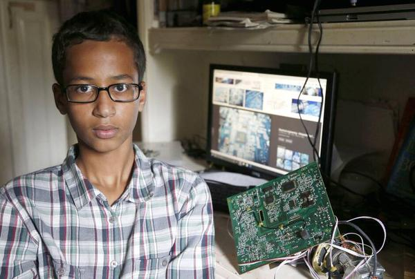 Ahmed Mohamed Starts Twitter Account After Outrage Over Clock Incident