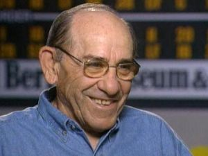 Yogi Berra's AP obituary initially read that the cartoon character named after Mr. Berra had died. (Photo: Twitter)
