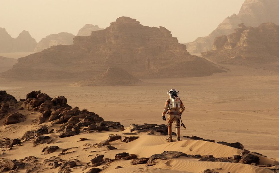 Ridley Scott's 3-D Space Thriller, 'The Martian,' Is One Hell of a Ride