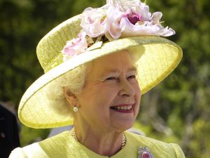 Queen Elizabeth II has always embraced technology, along with all her frilly hats. (Photo: Wikimedia Commons)