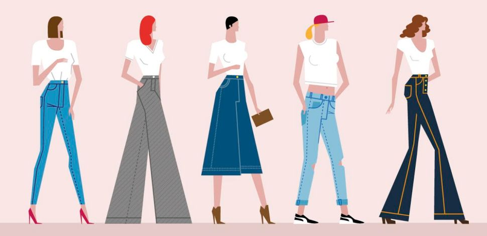 Ditch Skinny Jeans for Some New Denim Silhouettes This Autumn