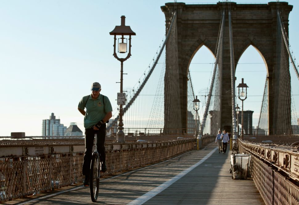 To Do This Week: Ride a Unicycle Over the Brooklyn Bridge for Unifest