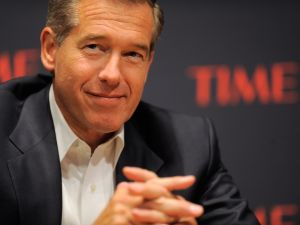NEW YORK, NY - NOVEMBER 08: Journalist Brian Williams speaks during the TIME Person of the Year panal discussion duing the TIME Person of the Year Lunch at Time Life Building on November 8, 2011 in New York City. (Photo by Jemal Countess/Getty Images for Time Warner)