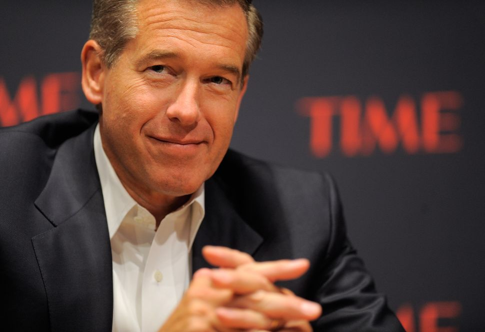 TV News Weekly Wrap: Brian Williams on MSNBC: Now You See Him…