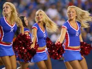 Buffalo Jills cheerleaders in 2012 (Photo: Rick Stewart for Getty Images)