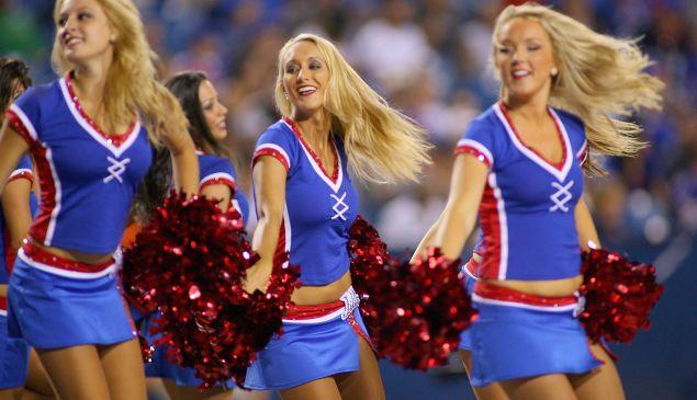 Buffalo Jills cheerleaders in 2012 (Photo: Rick Stewart for Getty Images)