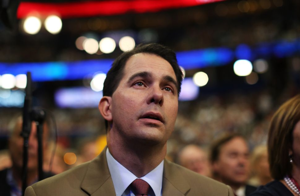 Has Anyone Flamed Out Quite Like Scott Walker?