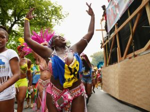 A dancer at a recent West Indian Day Parade. (Photo: Michael Loccisano/Getty Images)