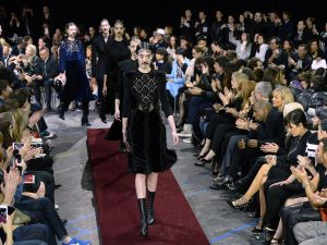 You could be a part of this Givenchy spectacle (Photo: BERTRAND GUAY/AFP/Getty Images.)