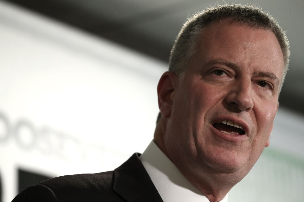 Bill de Blasio Is Sidestepping a Queens City Council Race