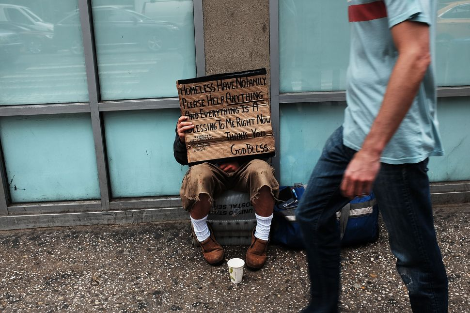 Living Like a Refugee: New York Must Do More to Help Its Homeless