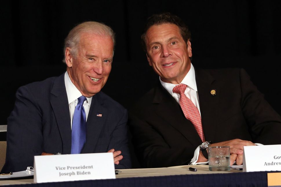 Biden and Cuomo Crusade for $15 Minimum Wage in New York