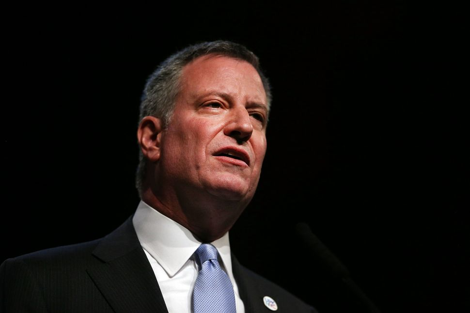 Bill de Blasio Is Done Answering Questions About Federal Probe of His Fundraising