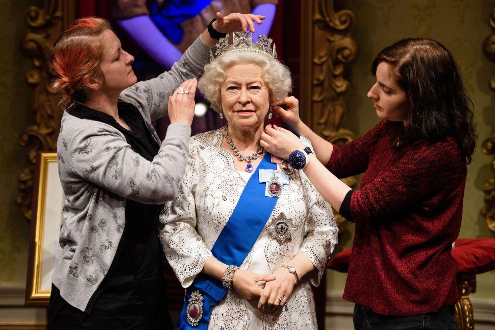 Queen Elizabeth's Creepy Wax Figure Gets a Makeover