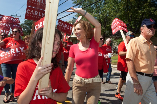 Carly's Face: Carly Fiorina Takes Command