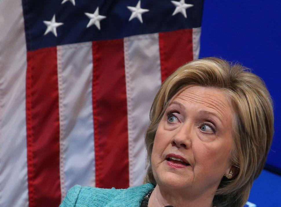 Hillary Clinton's (Democrat) Woman Privilege
