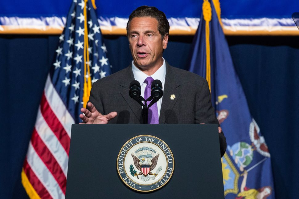 Old Andrew Cuomo Foe Joins His Campaign for a $15 Minimum Wage