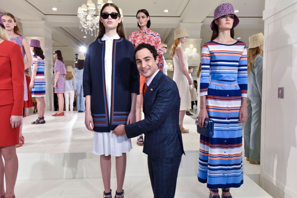 Zac Posen Makes a Colorful and Successful Debut at Brooks Brothers