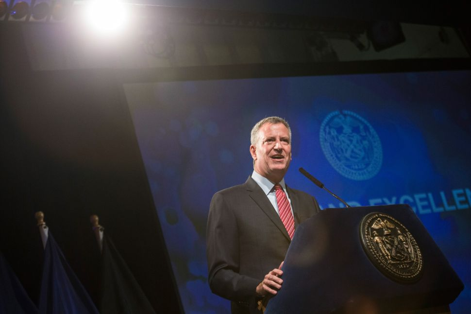 'Racist to the Core': Bill de Blasio Allies Blast New Charter Schools Ad