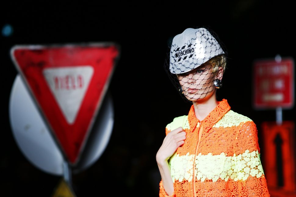 Moschino's Latest Collection Was Traffic-Stopping, Literally
