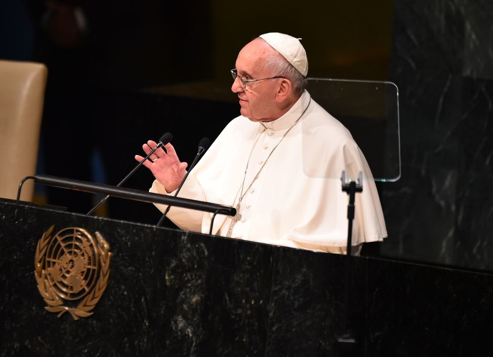 Use the Hashtag #PopeInNYC and Twitter Will Automatically Add a Special Emoji
