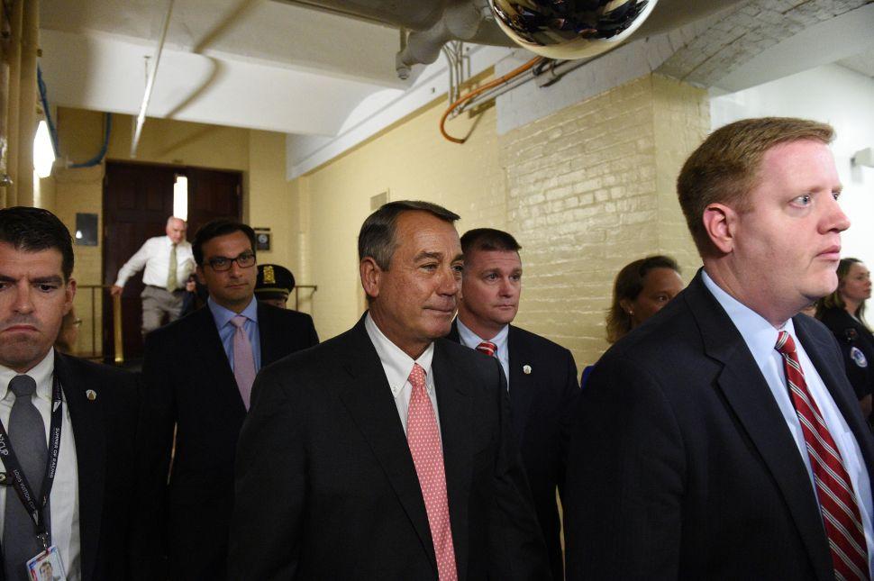 John Boehner's 'Shocking' Resignation Was Not Even Unexpected