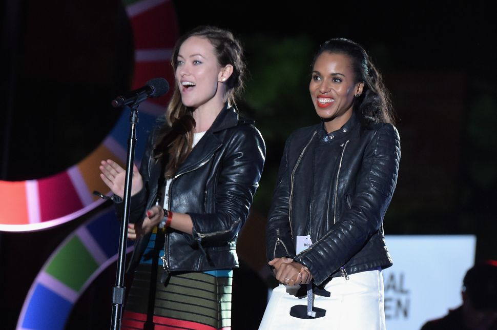 While Working to End Poverty, Stars Dressed for Success at Global Citizen Festival