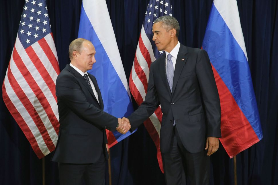 Putin Pushes Around Barack in Battle to Influence Middle East