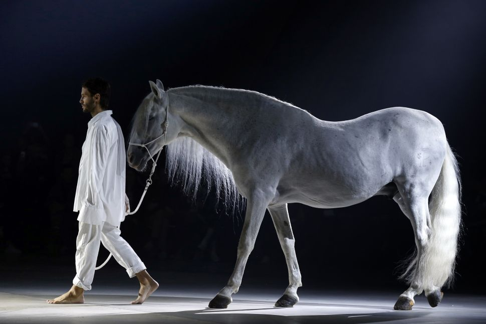 The Jacquemus Show Included a Cameo From a Horse
