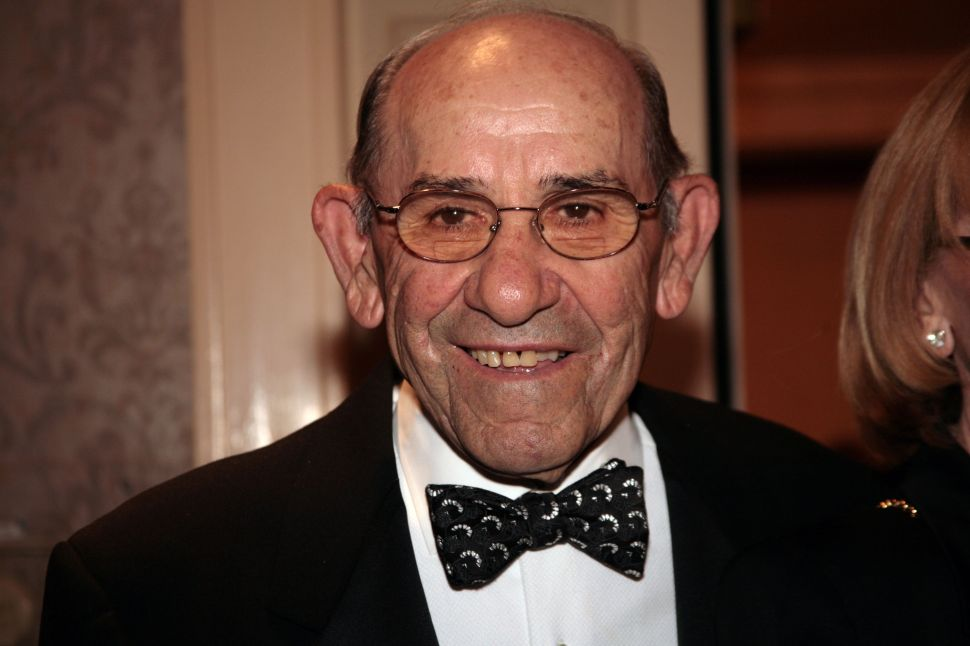 City Flies Flags at Half-Staff in Honor of Yogi Berra