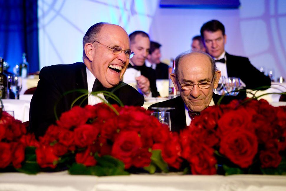 Rudy Giuliani: Yogi Berra Was My Hero