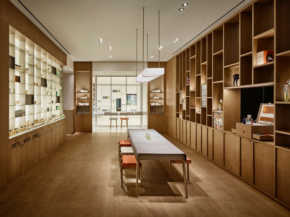 Inside the Chic New Hermès Parfumerie in Downtown Manhattan