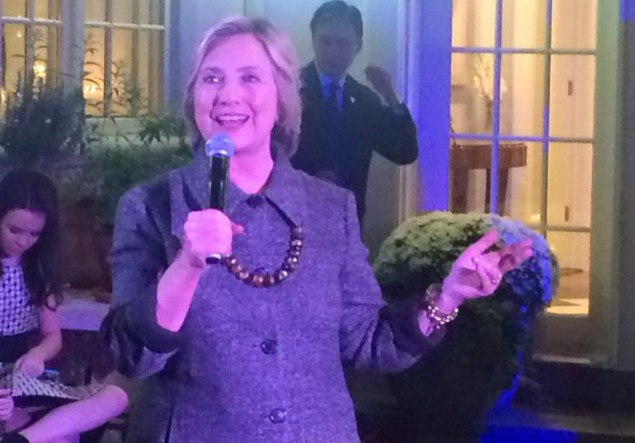 Clinton's NJ Camp Meets to Discuss Strategy and Fundraising
