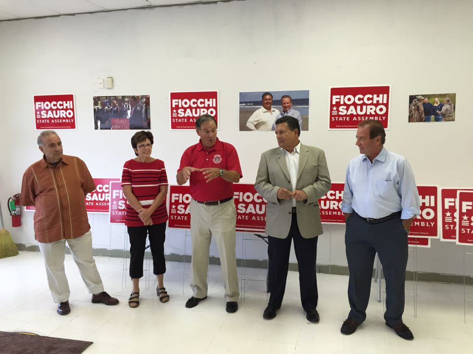 Bramnick Joins Fiocchi and Sauro Campaign Kickoff in LD1