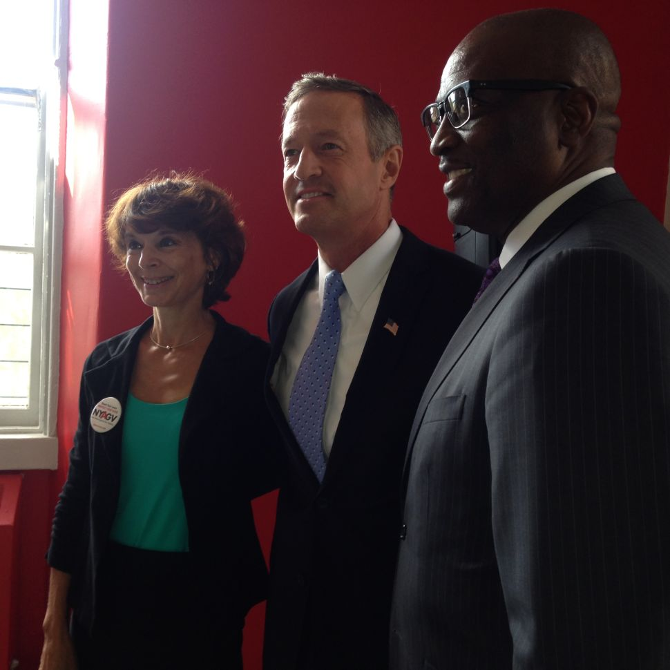 Pushing Gun Plan, O'Malley Says, 'Draw Your Own Conclusions' About Sanders' Record