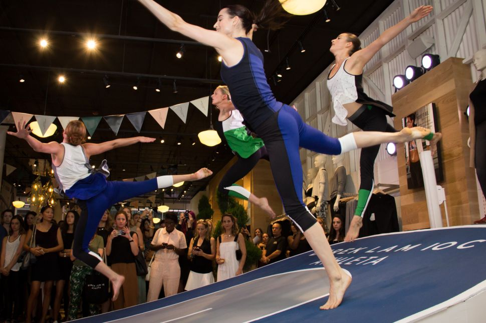 Models Run, Dance, Do Yoga at Launch of Athleta's Derek Lam Collaboration