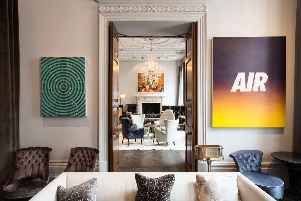 Yankee Artists Help London Arts Club Thrive