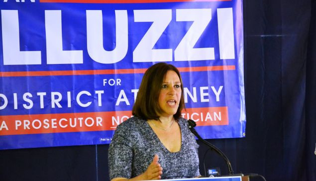 Joan Illuzzi, formerly the Republican candidate for district attorney on Staten Island.