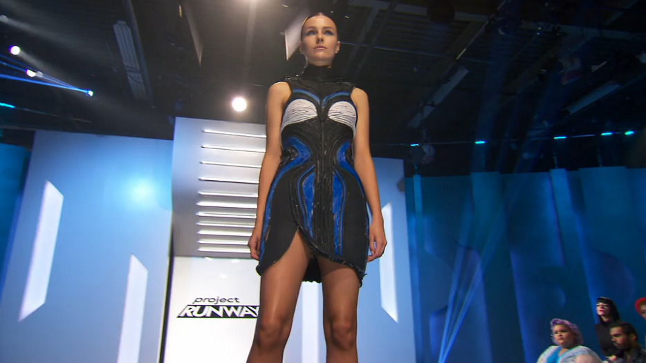 Project Runway Designers Used Old Computer Parts to Make These Amazing Dresses