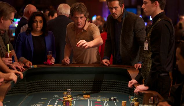 Ben Mendelsohn and Ryan Reynolds in Mississippi Grind.